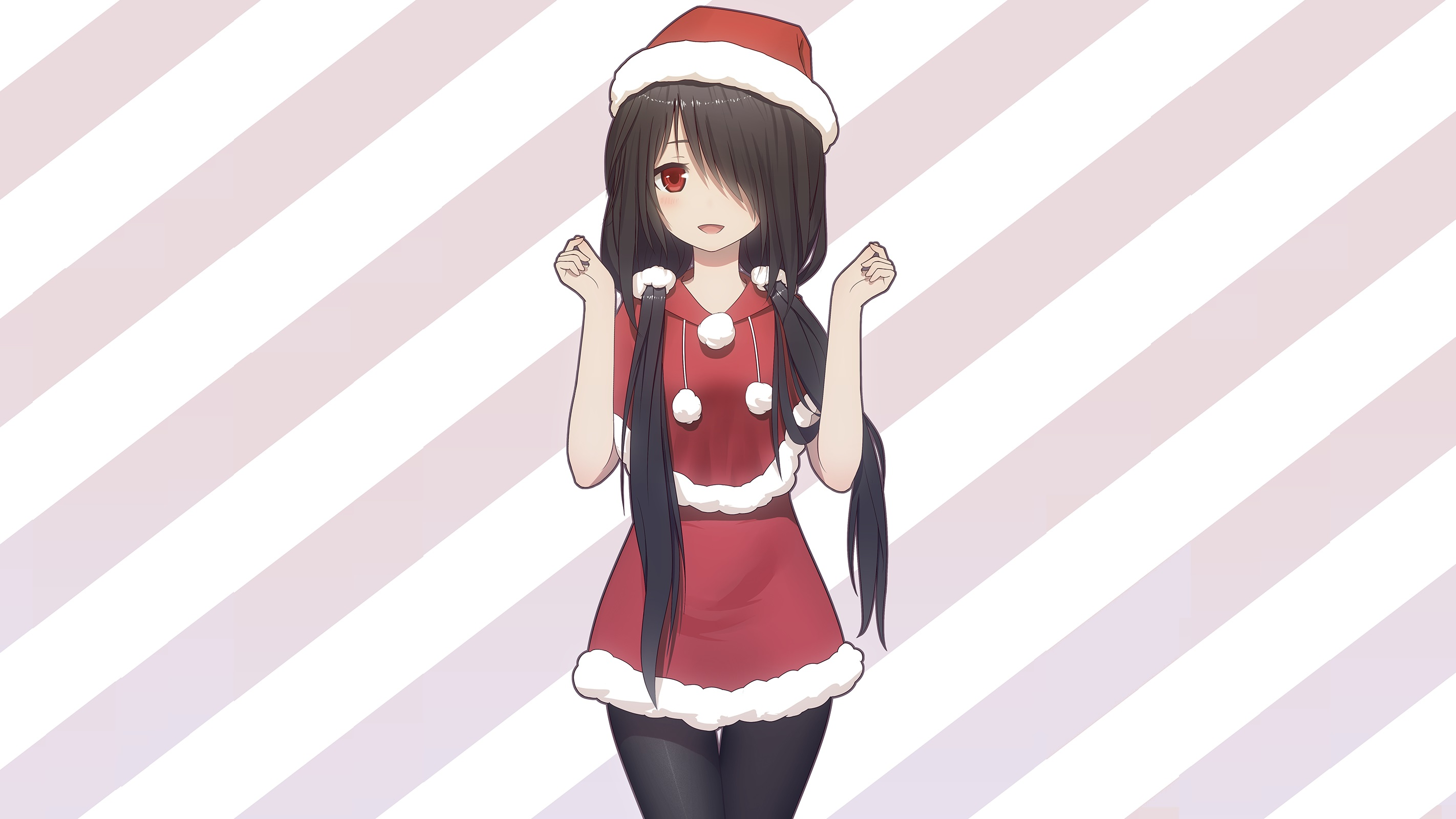 Cute anime girl christmas wallpapers hd - Cute anime girl pictures ...