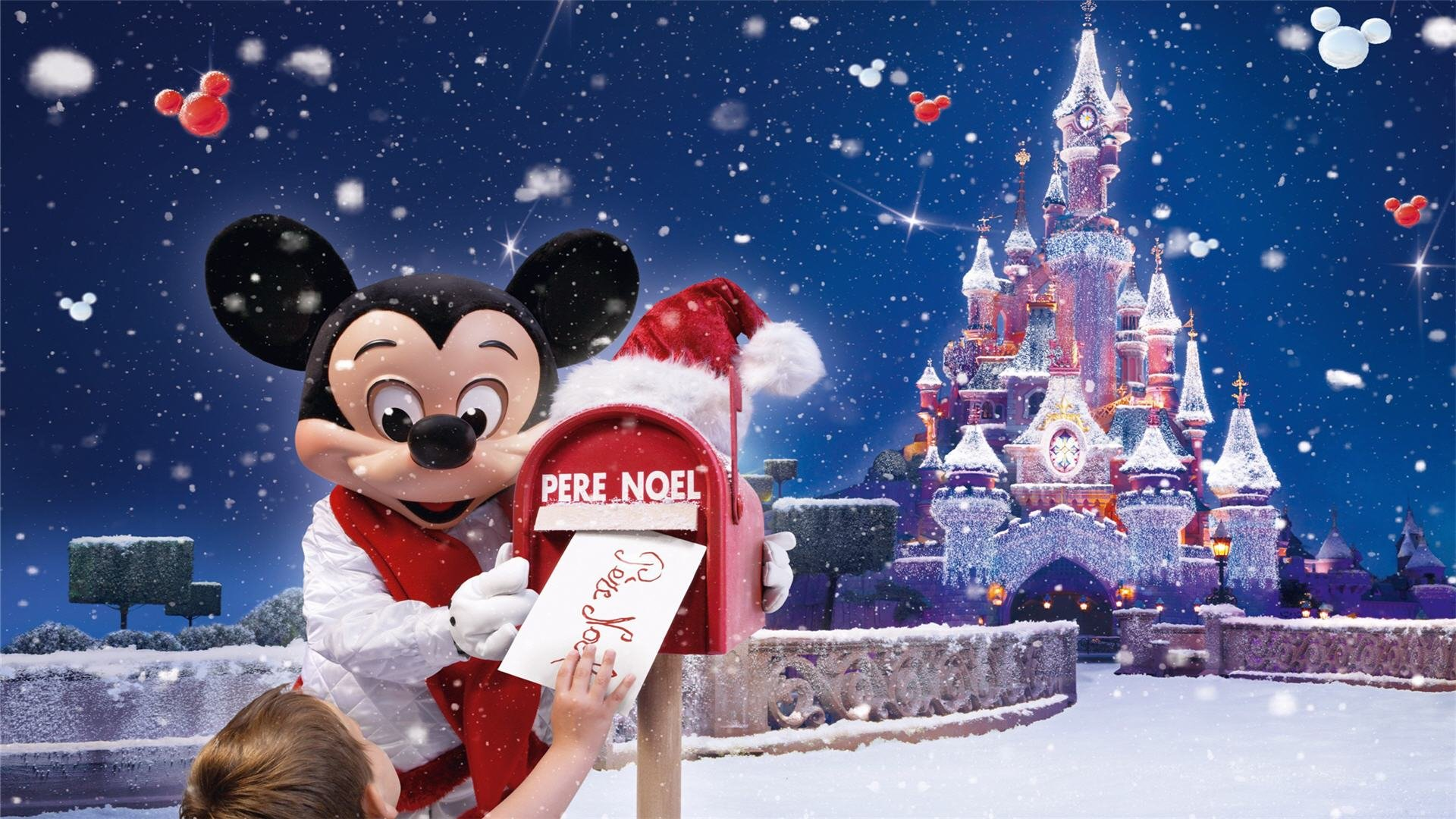 Disneyland Paris Christmas Wallpaper Wallpaper Wiki