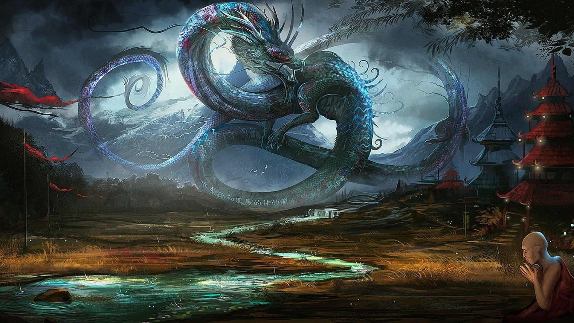 fantasy dragon wallpaper desktop 1