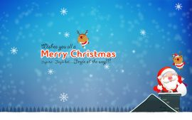 Free Merry Christmas Backgrounds