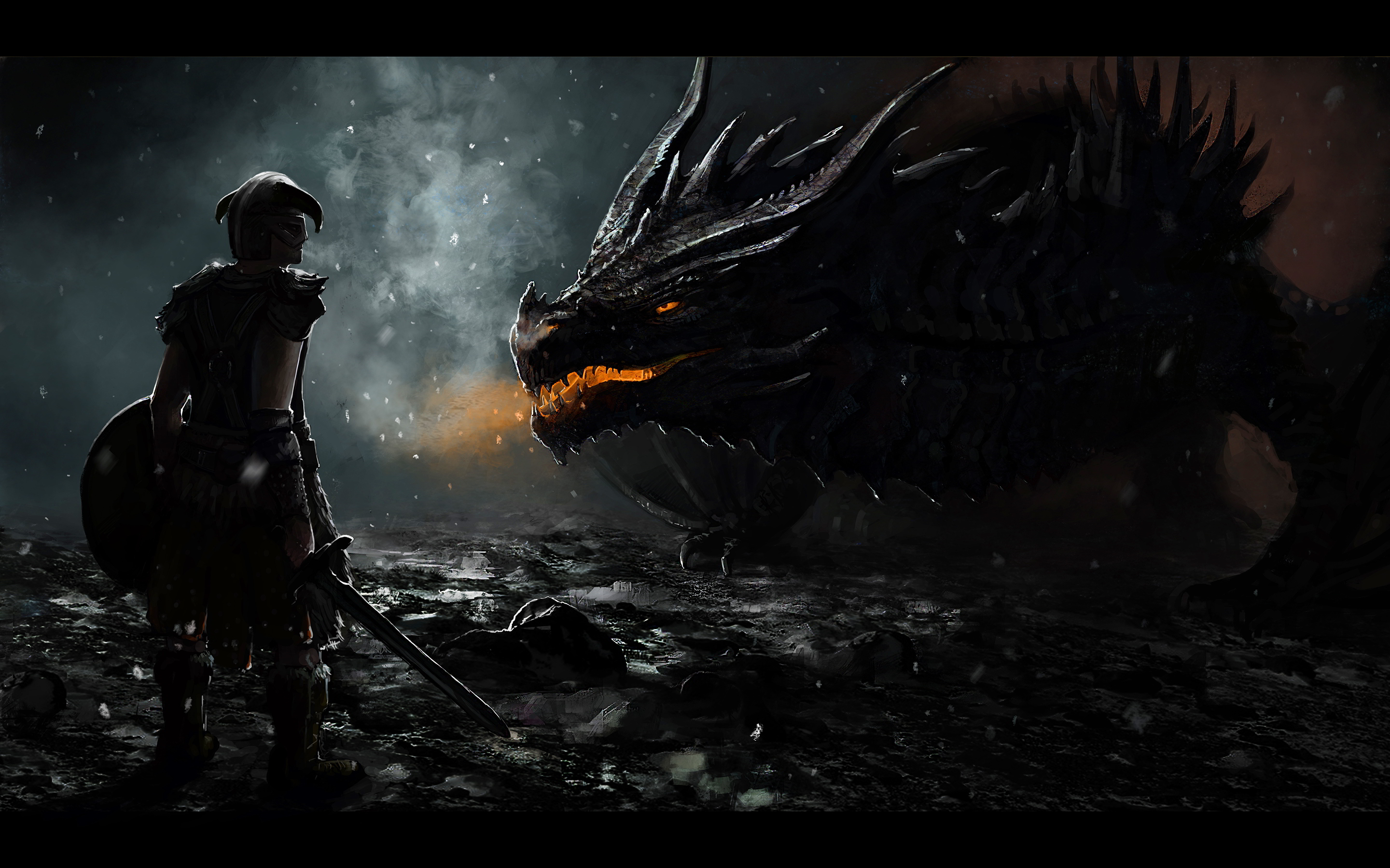 Dragon Skyrim Wallpaper HD wallpaperwiki