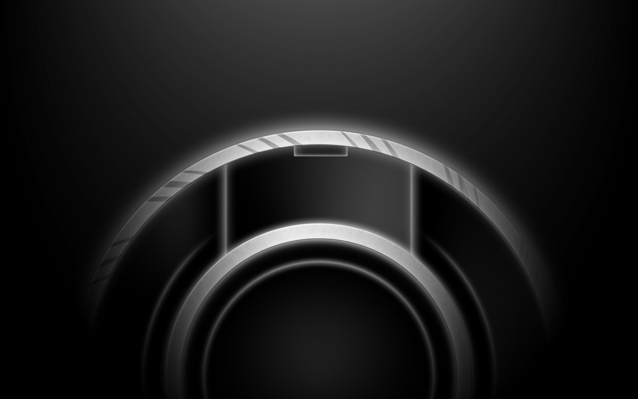 Grey-Disk-HD-Wallpaper