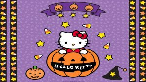 Download Free Hello Kitty Halloween Wallpapers