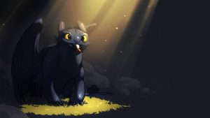 Toothless HD Backgrounds Download