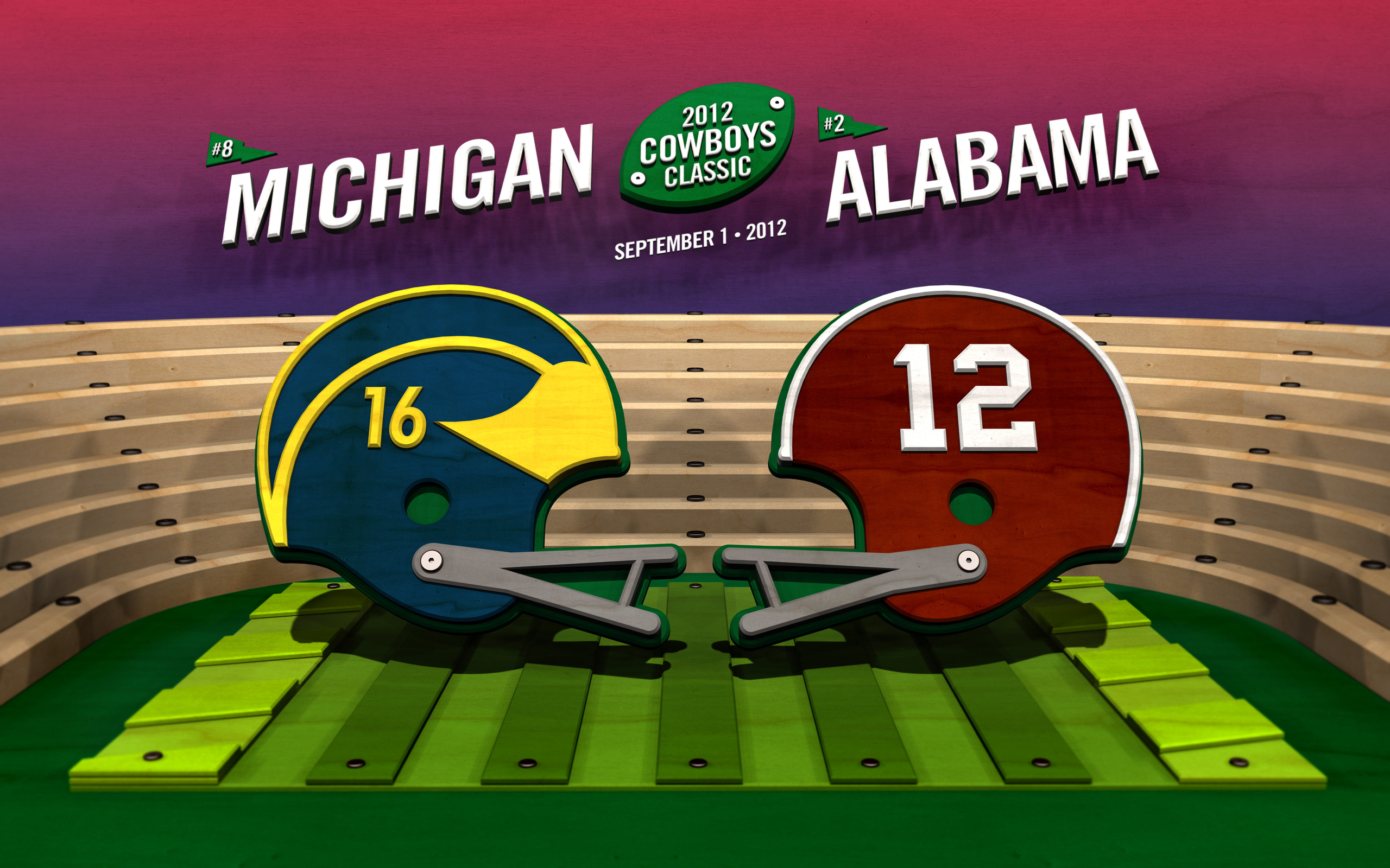 Michigan Football Wallpaper HD Alabama Widescreen
