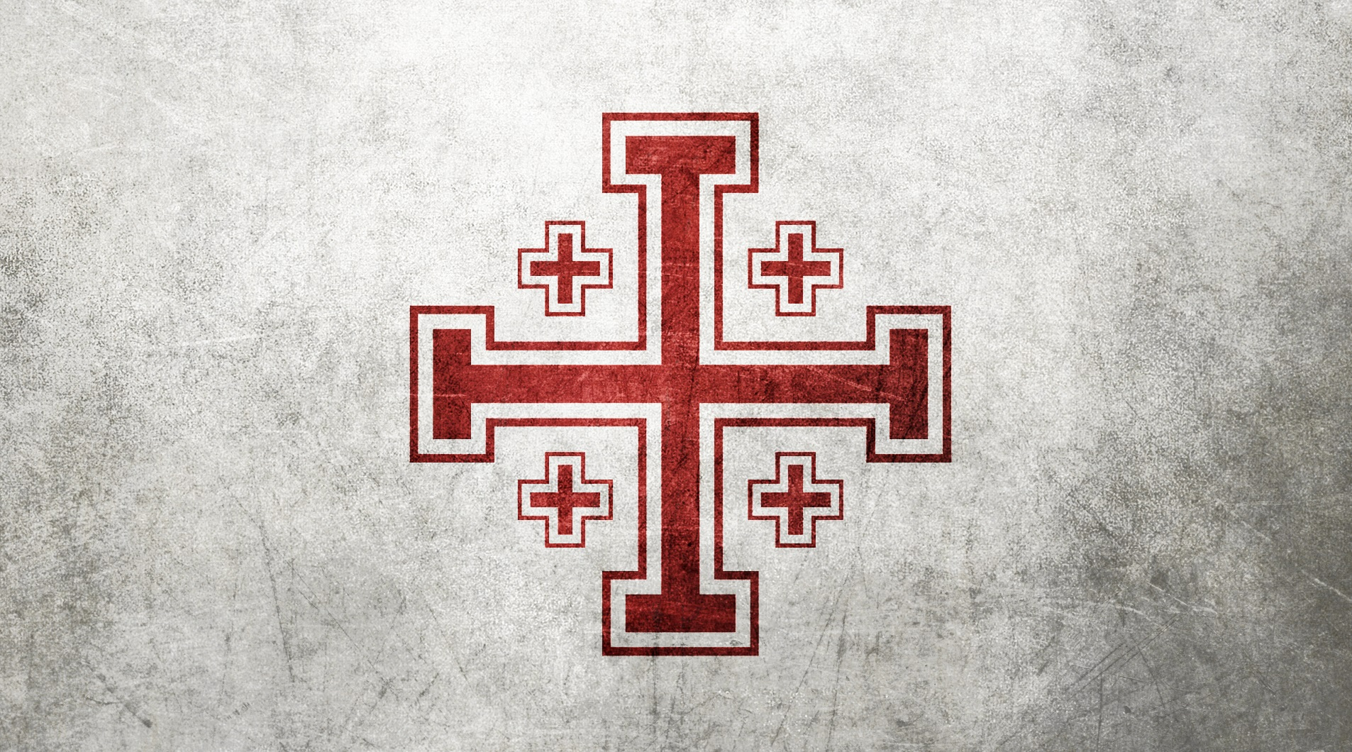 Religious-jerusalem-cross-background