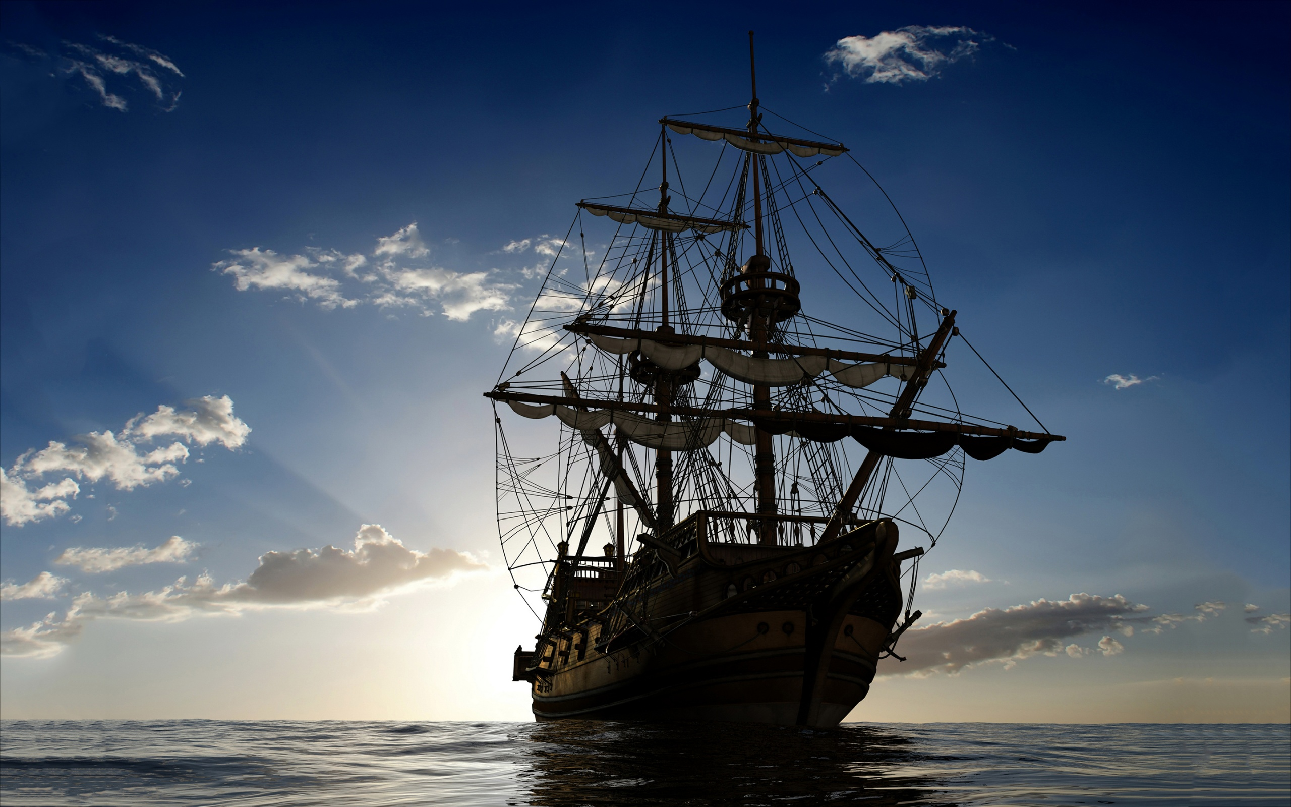 sailing-ship-ocean-2560x1600 | wallpaper.wiki