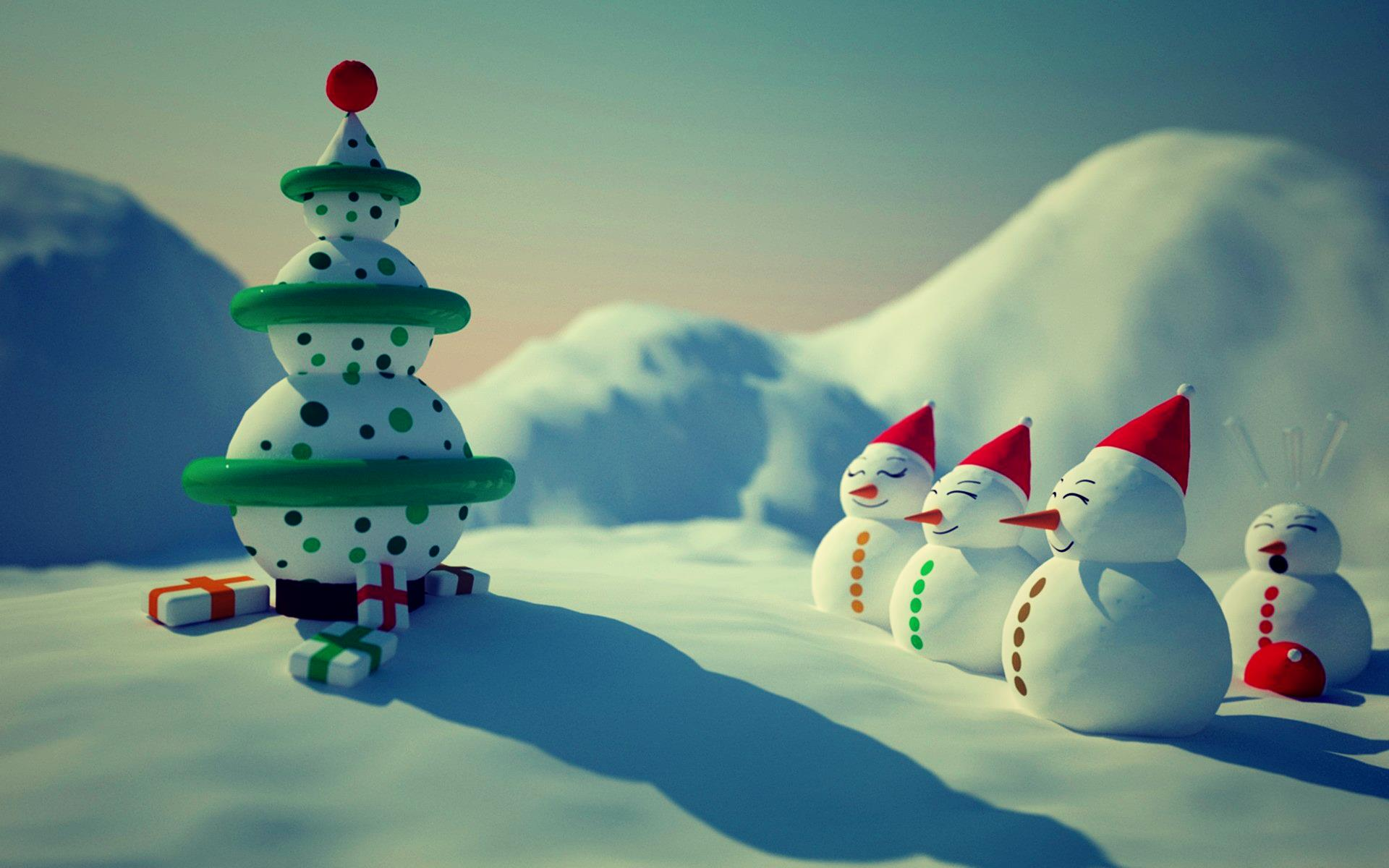 snowman-merry-christmas-hd-wallpapers-free | wallpaper.wiki