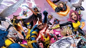 HD Storm X Men Comics Backgrounds