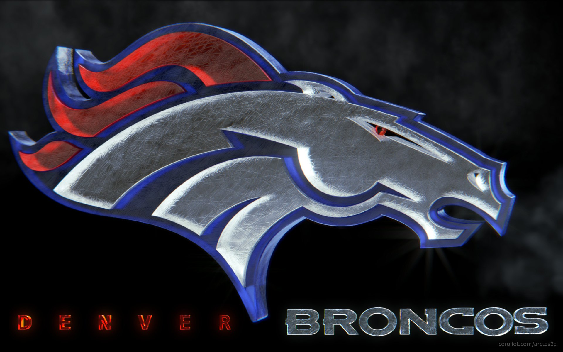 StrongLogoDenverBroncosWallpaper wallpaperwiki