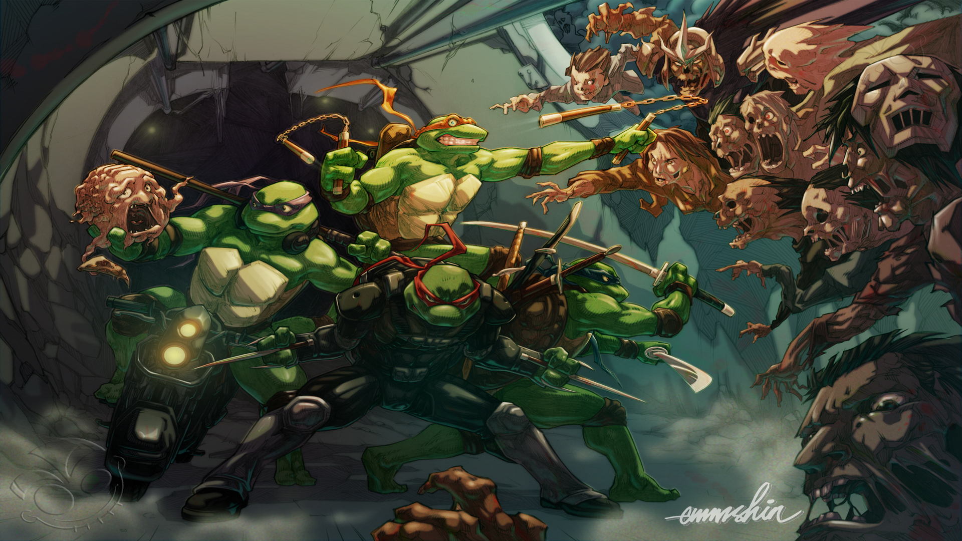 TMNT Wallpaper HD Amazing