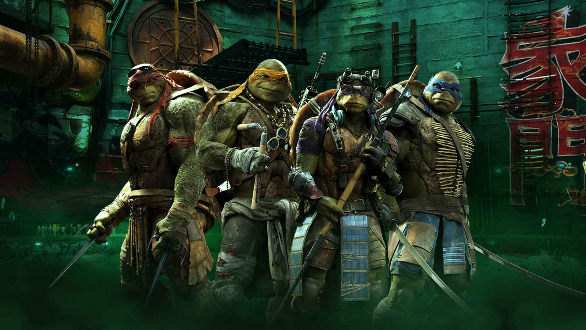 Teenage Mutant Ninja Turtles Wallpaper Hd