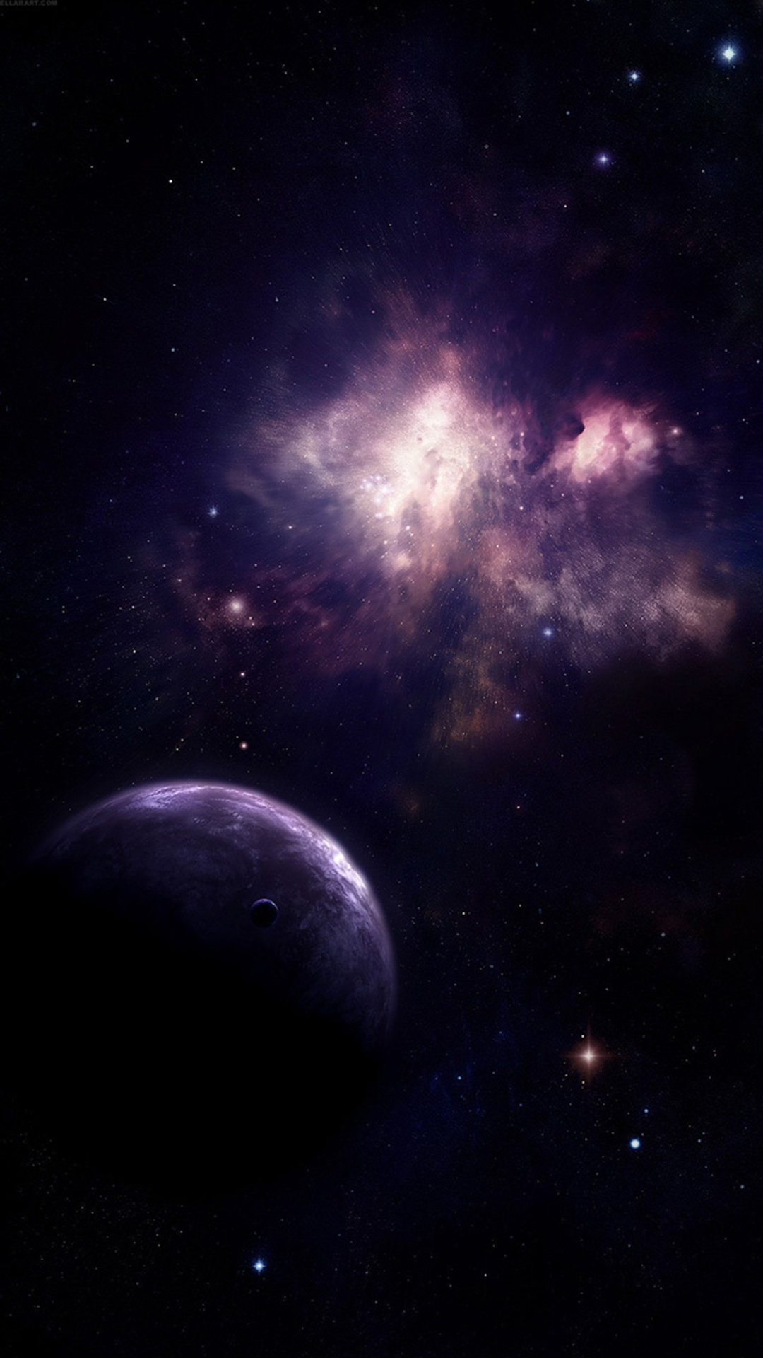 Universe-Planet-Nebula-Shiny-Outer-SPace-View-iphone-wallpaper