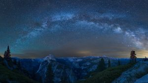 Yosemite Night Wallpaper