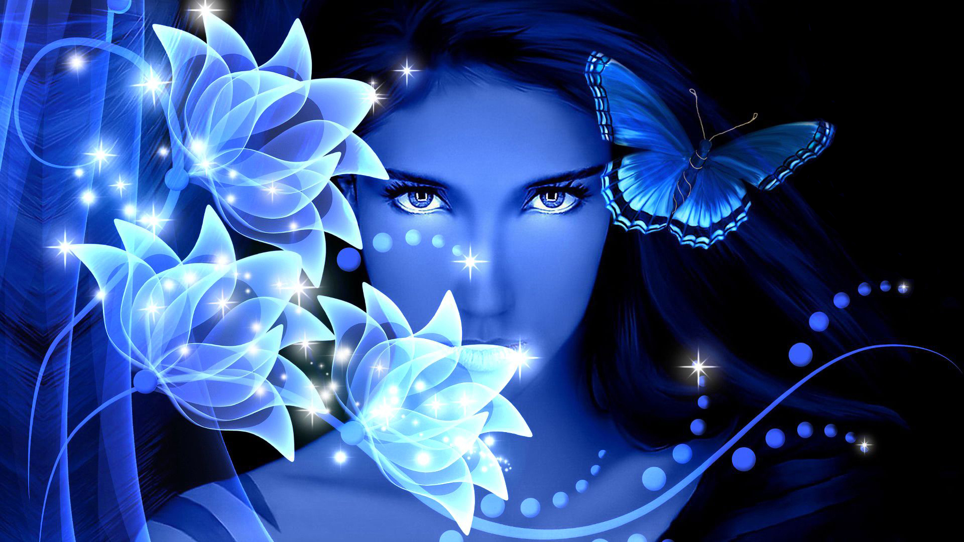 blue-butterfly-on-white-stones-desktop-background-wallpapers-hd