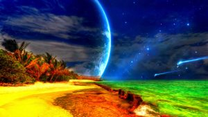 The blue moon HD Wallpapers
