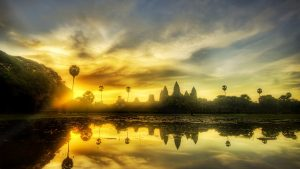 Angkor Wat Desktop Background