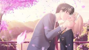 HD Cute Anime Couple Backgrounds