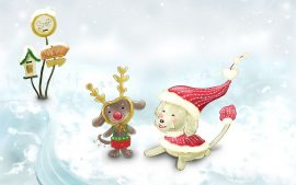HD Cute Christmas Backgrounds
