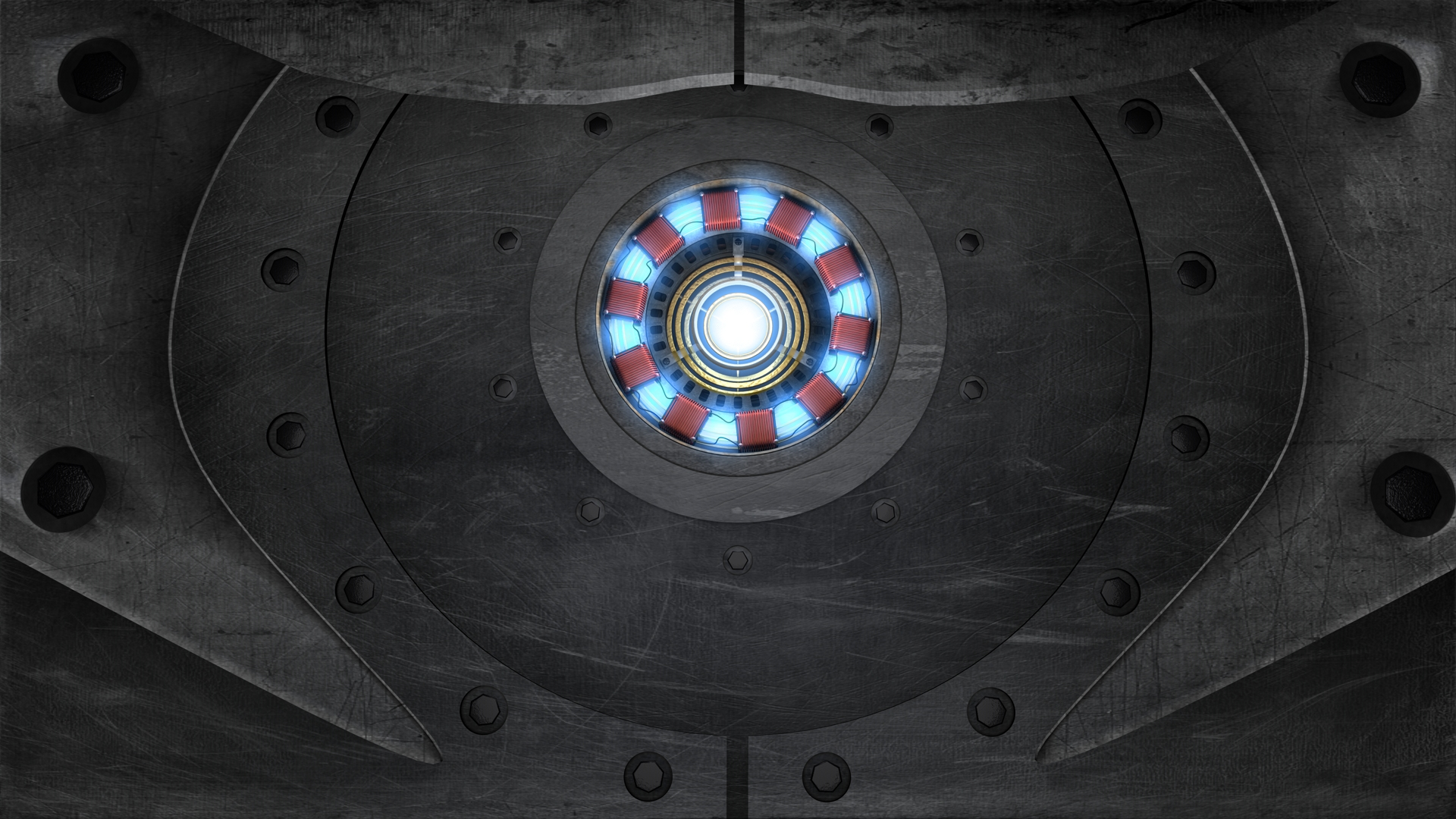Arc Reactor Iron Man Wallpaper HD