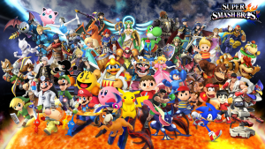 Super Smash Bros Backgrounds