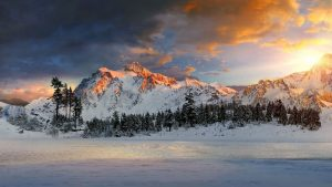 Snowy Mountains Backgrounds Download Free