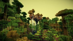 Free Minecraft HD Backgrounds
