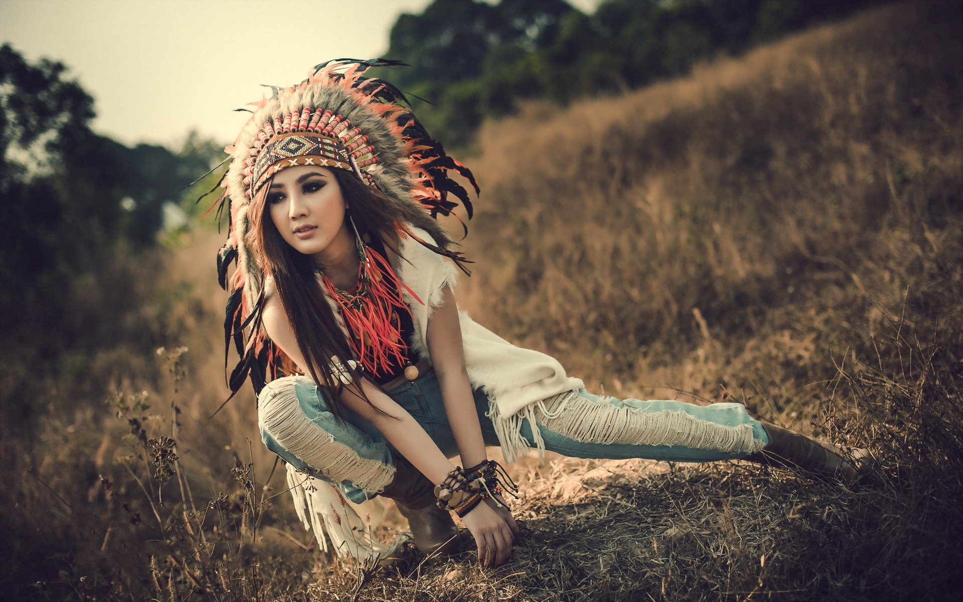 native american woman wallpaper hd pic wpe005931