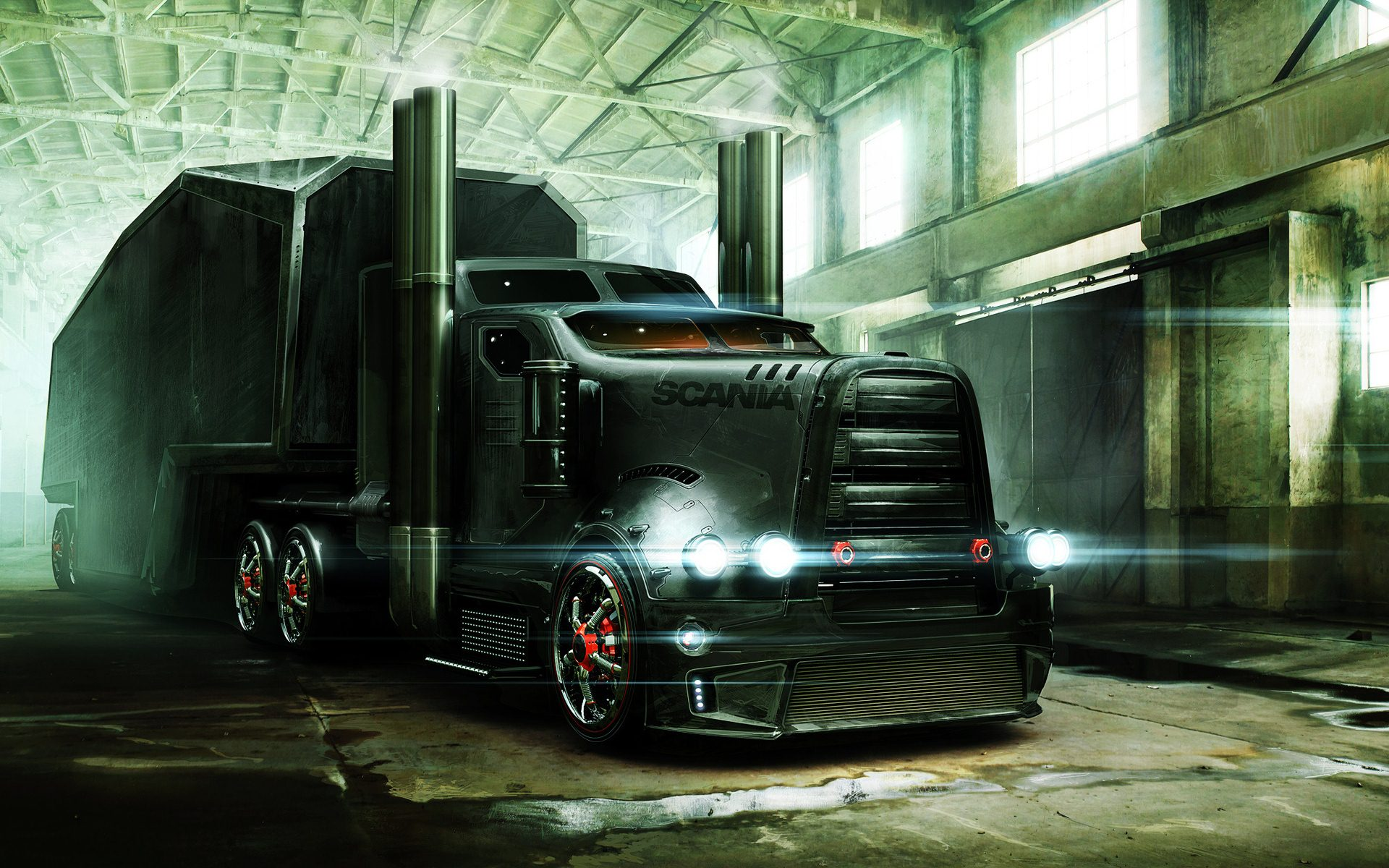 HD Semi Truck Backgrounds | wallpaper.wiki