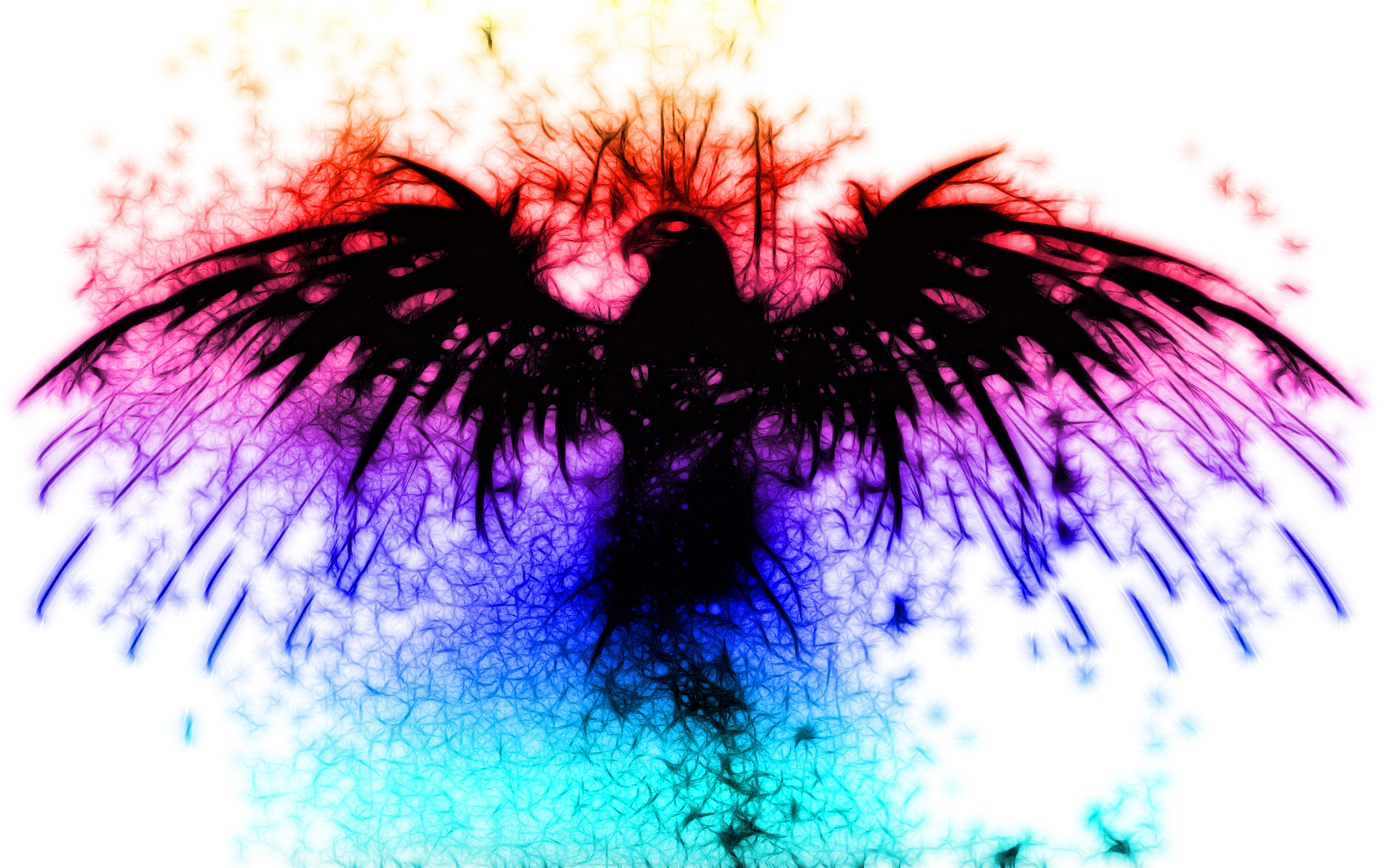 Abstract Phoenix Bird Wallpaper HD