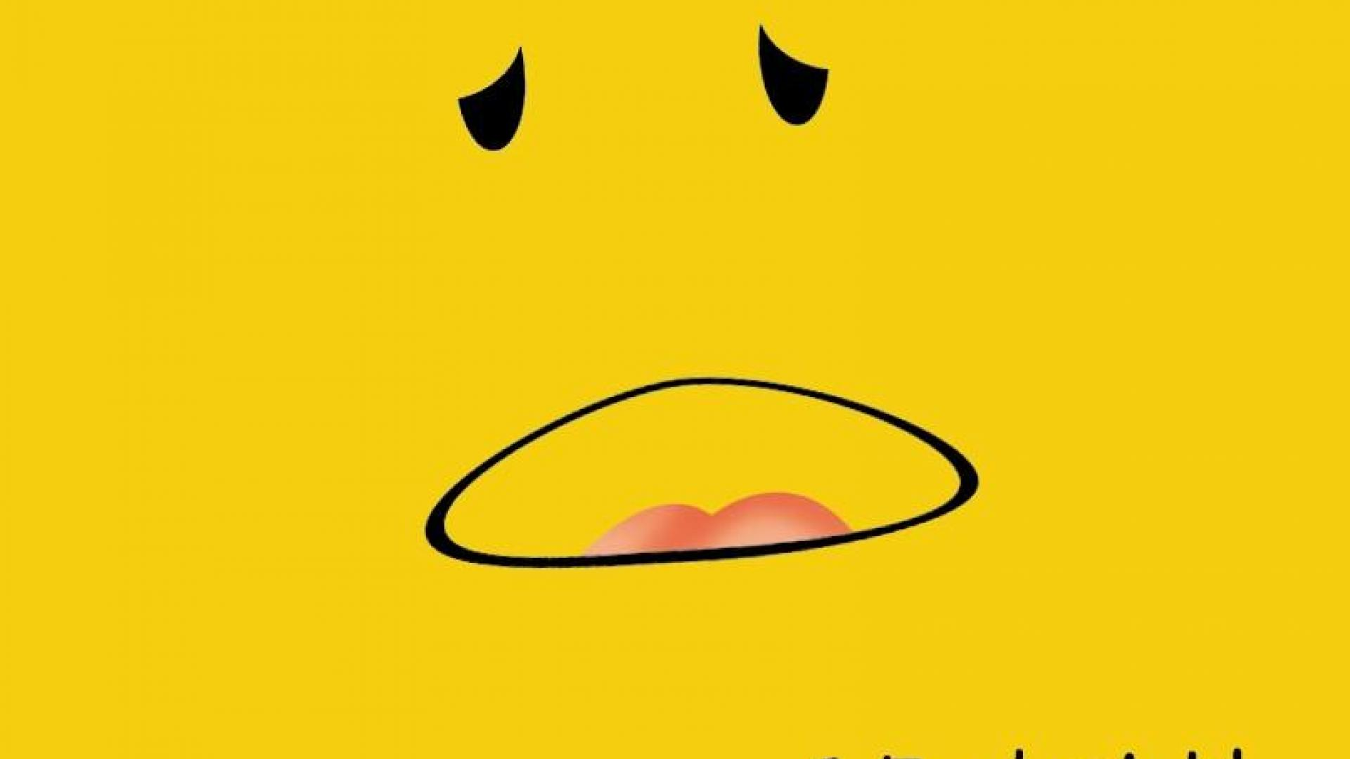 yellow background with cartoon face a Feel-sick-wallpapers-HD