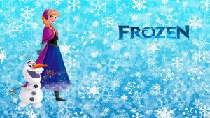 Olaf Frozen Wallpaper