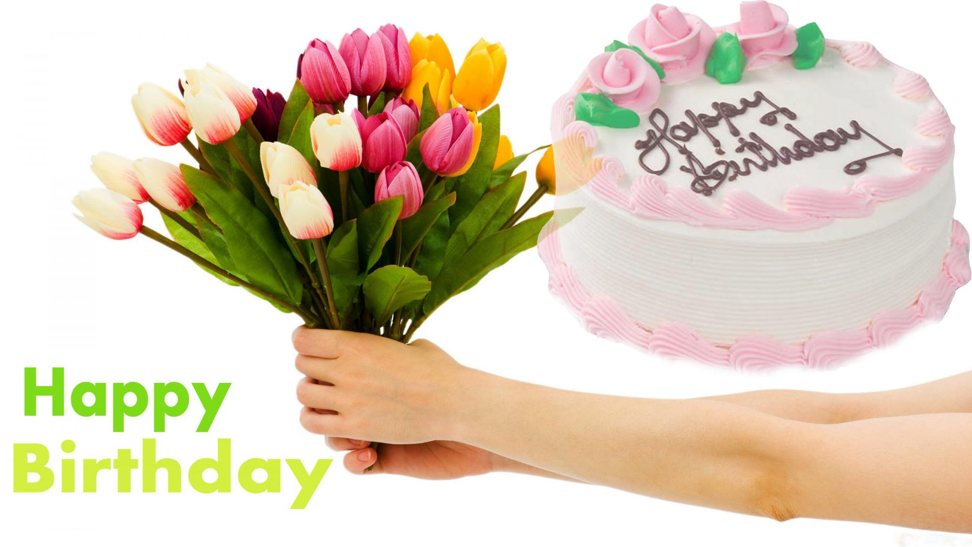 Happy Birthday Flower Photos Backgrounds