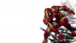 Iron Man comic cartoon wallpapers