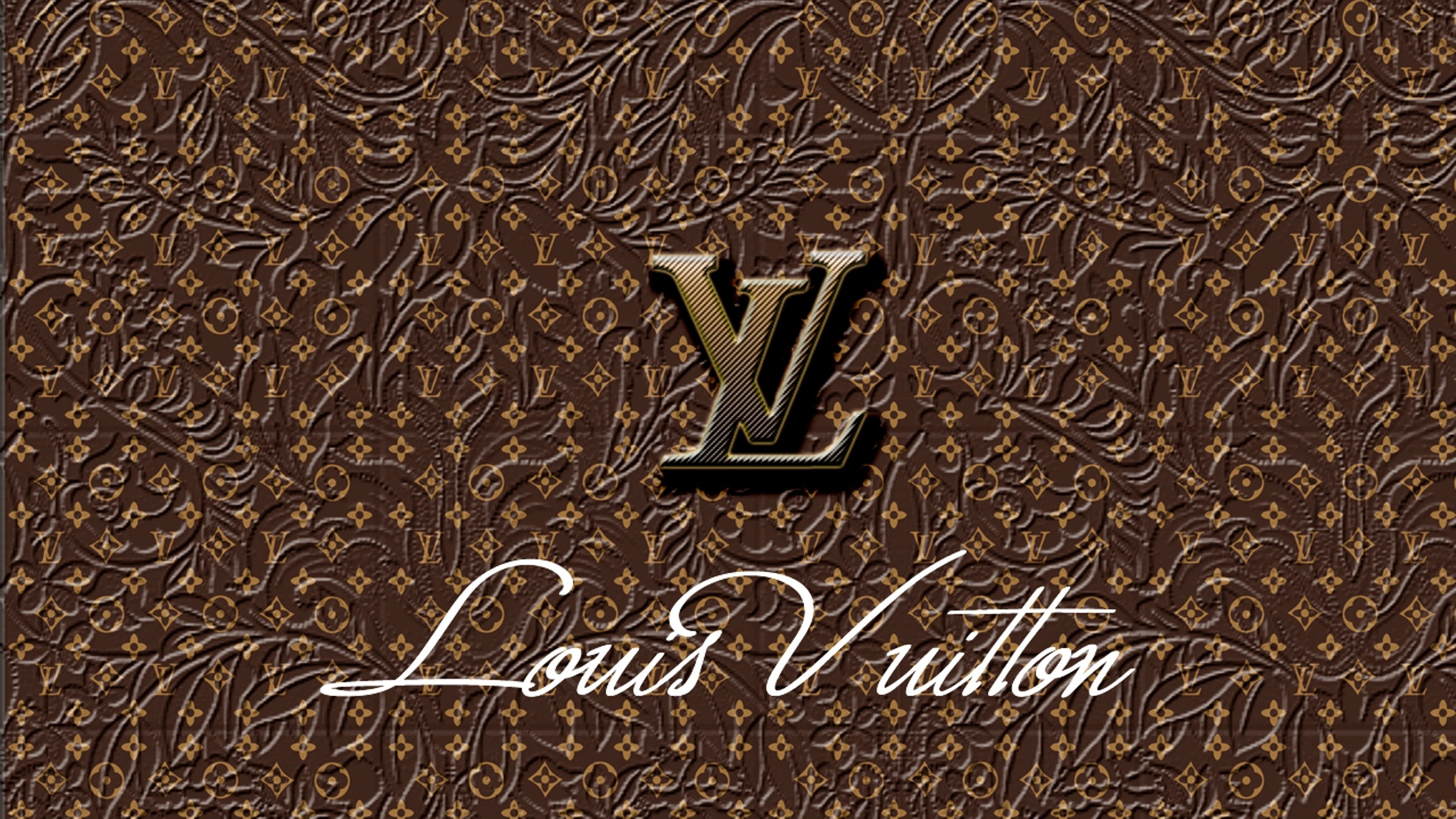 Logo louis vuitton backgrounds wallpaper louis vuitton brown logo wallpaper voltagebd Choice Image