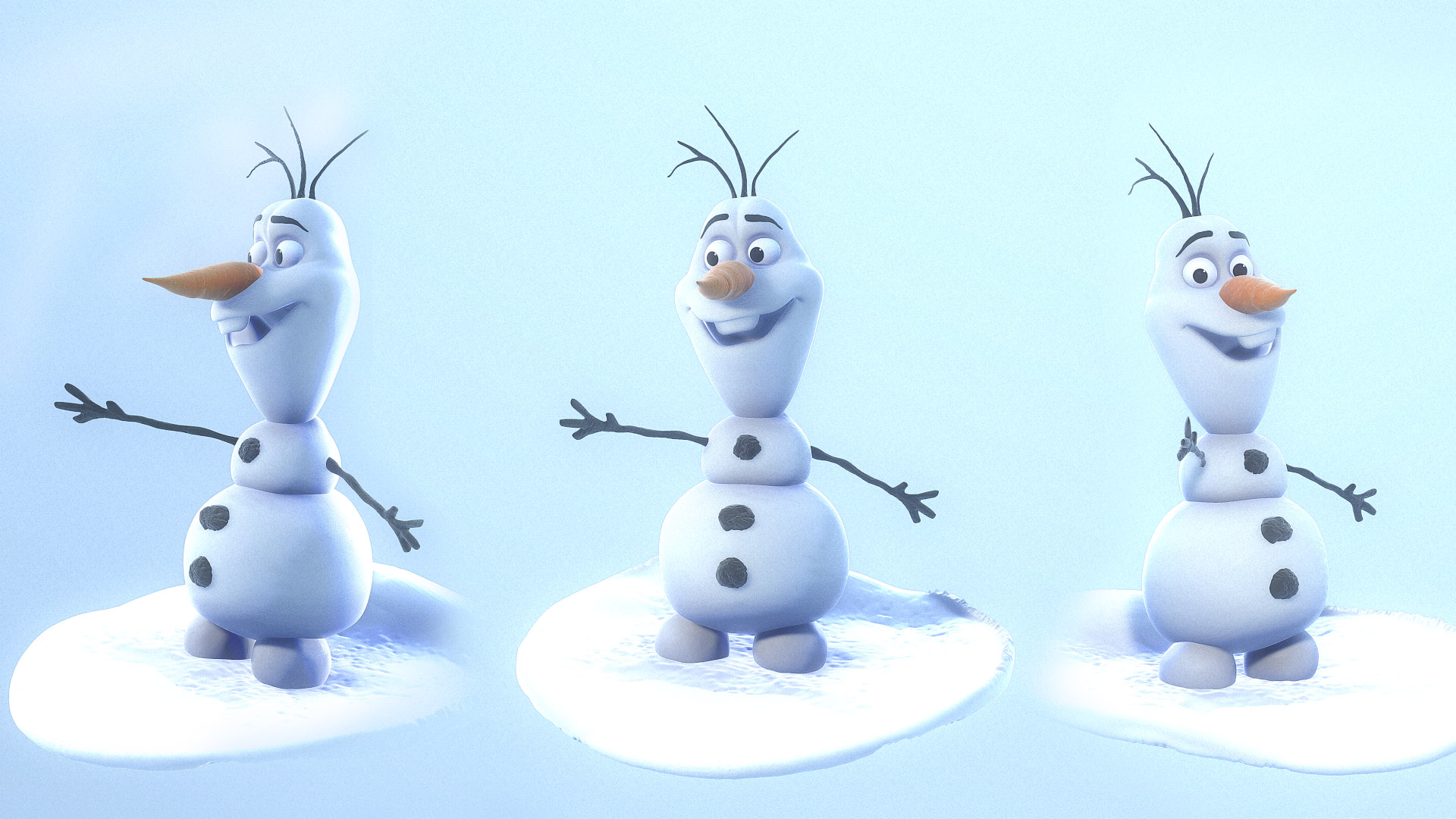 Olaf The Snowman Wallpapers Widescreen