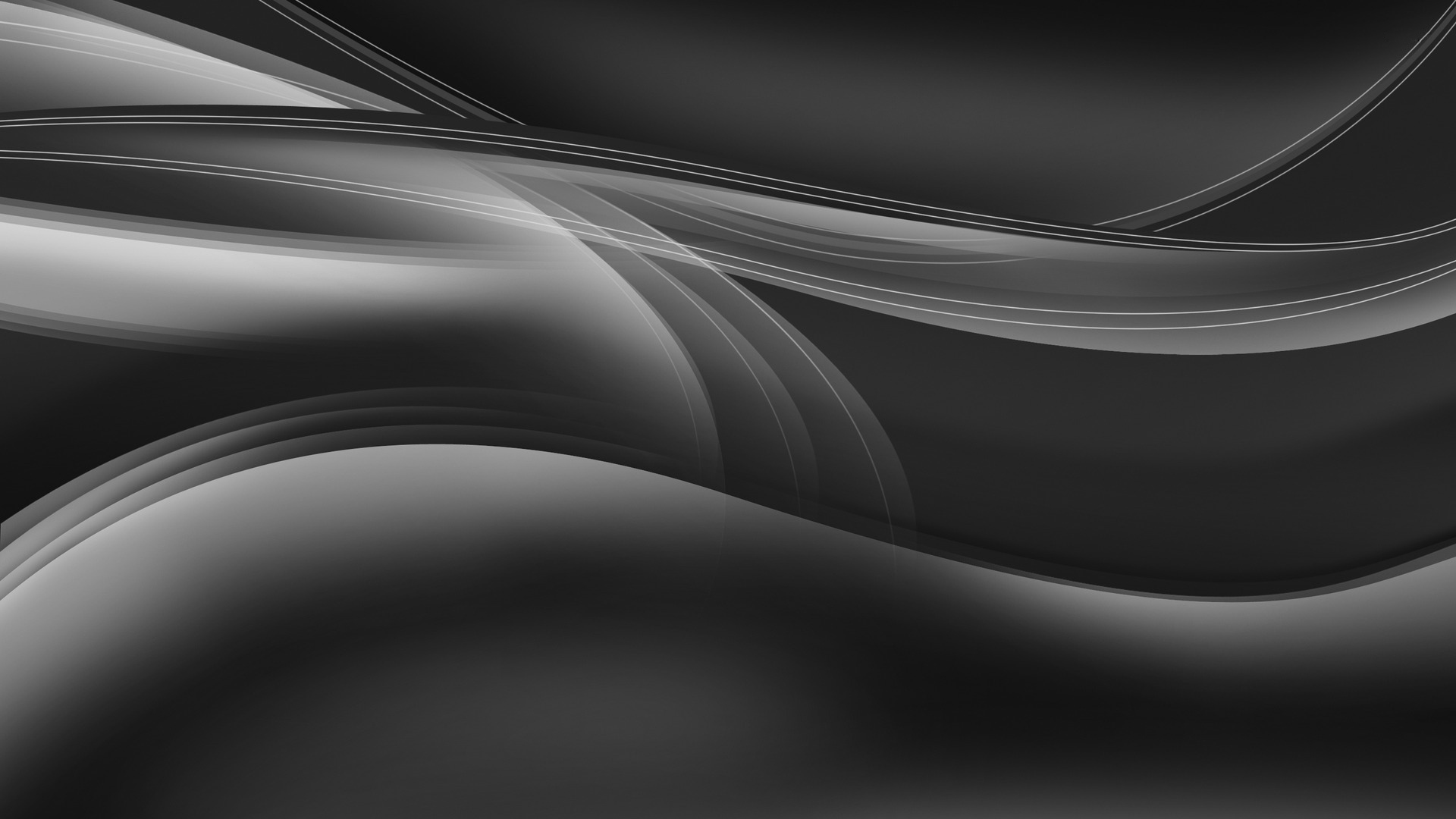 Silver-curves-HD-abstract-wallpaper