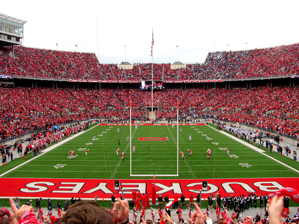 Stadium Of Ohio State Buckeyes Wallpaper HD