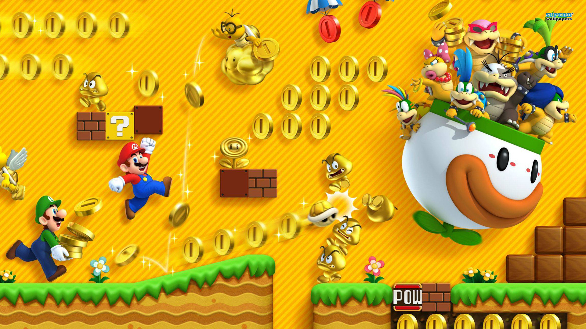 super-mario-hd-picture | wallpaper.wiki