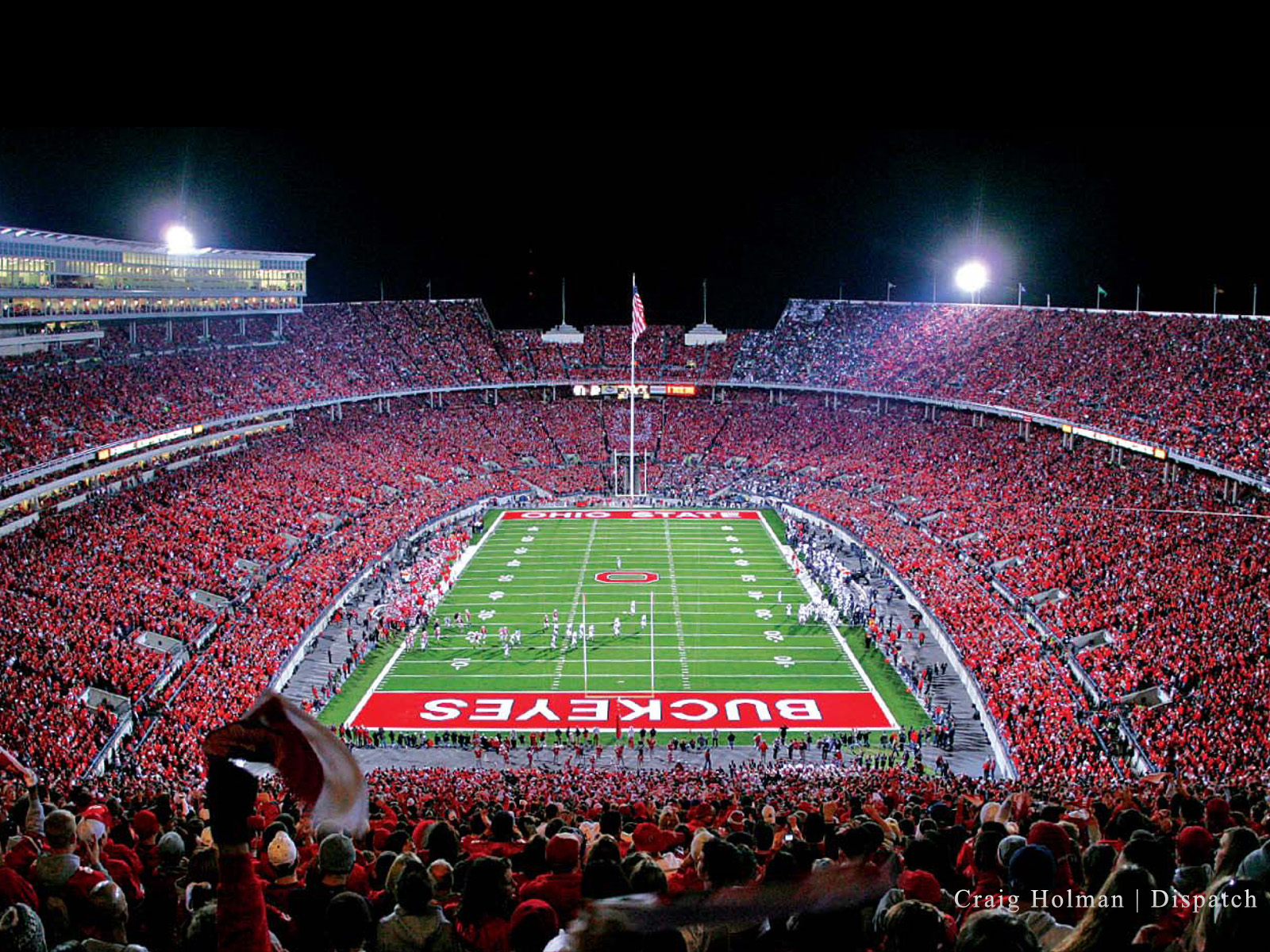 The Ohio State Stadium Wallpapers HD
