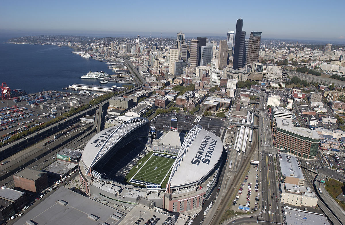 The-stadium-from-the-air-on-a-clear-day-Seattle-SEAHAWKS-STADIUM-Background
