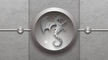 Tribal-dragon-ws-silver-desktop-hd-wallpaper