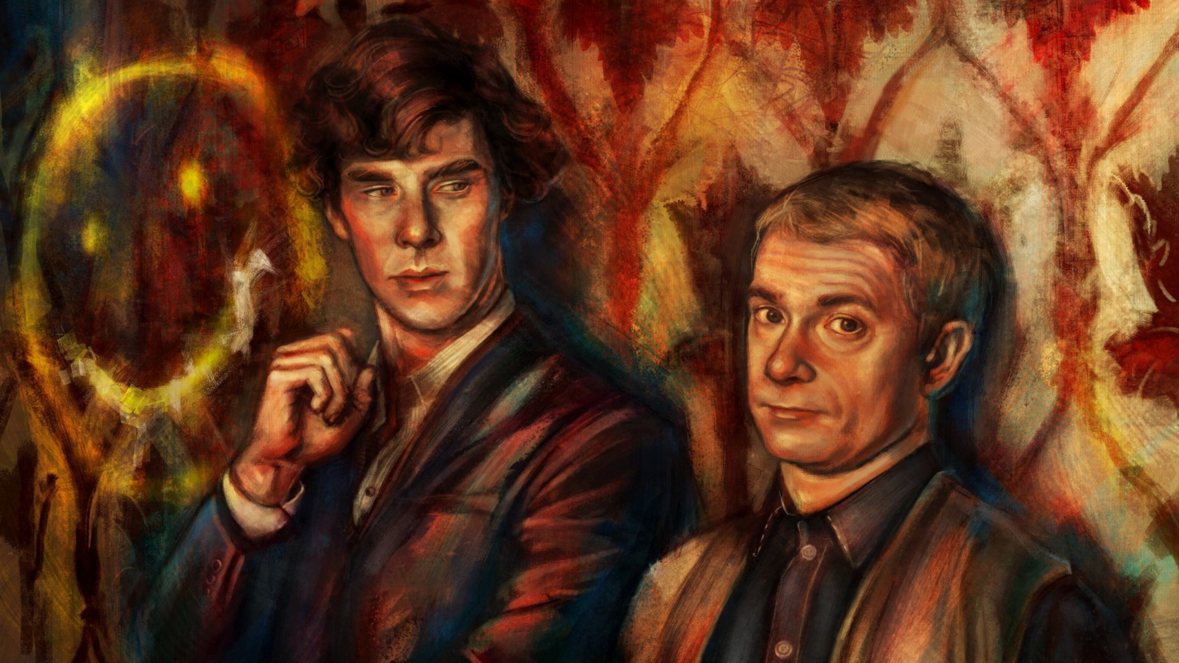 Wallpapers sherlock doctor john watson benedict cumberbatch martin Sherlock Wallpapers HD